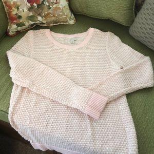 Sonoma light pink sweater
